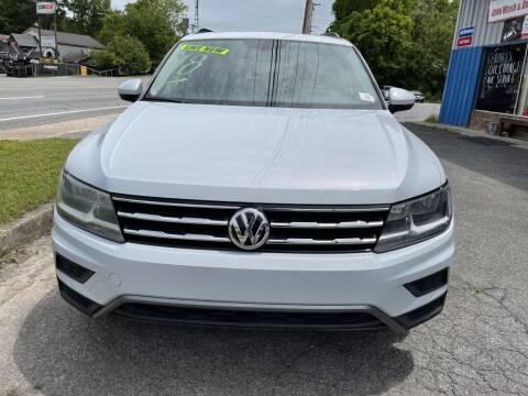 2018 Volkswagen Tiguan for sale at USA 1 of Dalton in Dalton GA