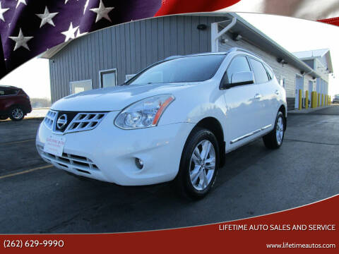 2013 Nissan Rogue for sale at Lifetime Auto Sales and Service in West Bend WI