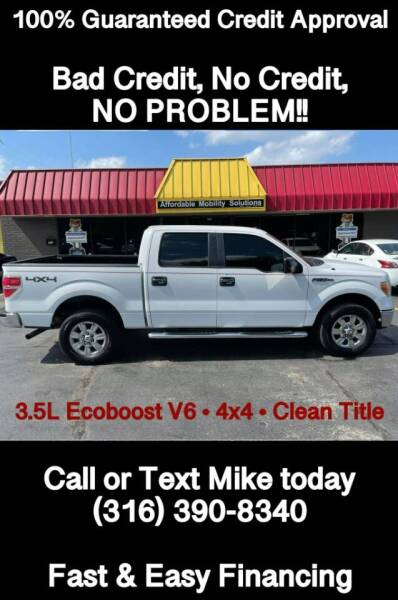 2011 Ford F-150 for sale at Affordable Mobility Solutions, LLC - Standard Vehicles in Wichita KS