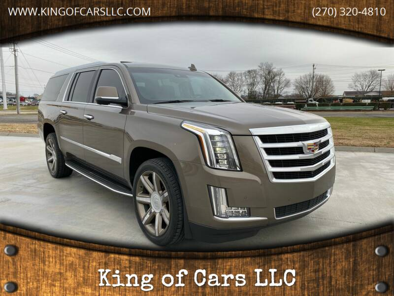 2015 Cadillac Escalade ESV for sale at King of Cars LLC in Bowling Green KY