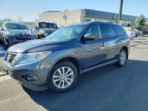 2014 Nissan Pathfinder for sale at High Line Auto Sales in Salt Lake City UT