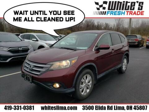 2012 Honda CR-V for sale at White's Honda Toyota of Lima in Lima OH