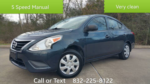 2015 Nissan Versa for sale at Houston Auto Preowned in Houston TX