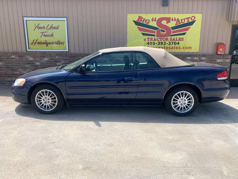 2006 Chrysler Sebring for sale at BIG 'S' AUTO & TRACTOR SALES in Blanchard OK