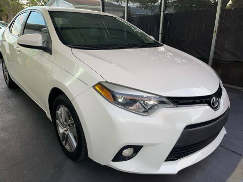 2014 Toyota Corolla for sale at Sheldon Motors in Tampa FL