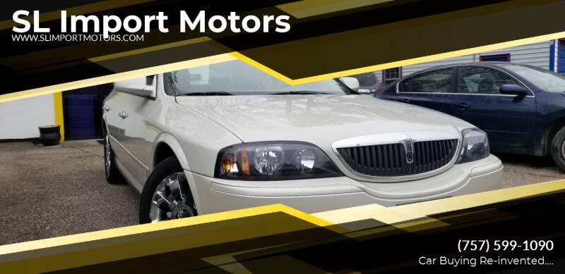 2005 Lincoln LS for sale at SL Import Motors in Newport News VA
