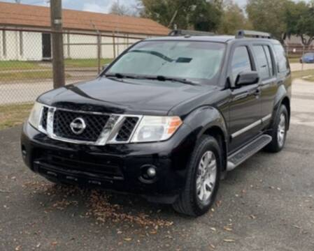 2012 Nissan Pathfinder for sale at DON BAILEY AUTO SALES in Phenix City AL