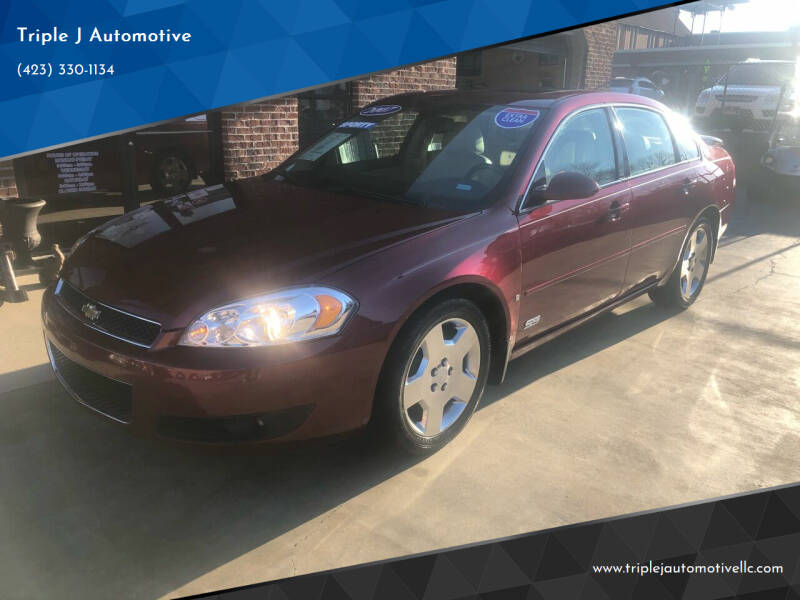 2007 Chevrolet Impala for sale at Triple J Automotive in Erwin TN