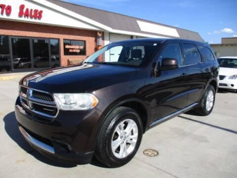 2012 Dodge Durango for sale at Eden's Auto Sales in Valley Center KS