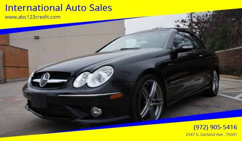 2008 Mercedes-Benz CLK for sale at International Auto Sales in Garland TX