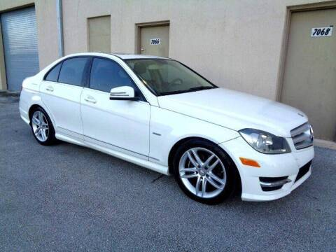 2012 Mercedes-Benz C-Class for sale at Selective Motor Cars in Miami FL