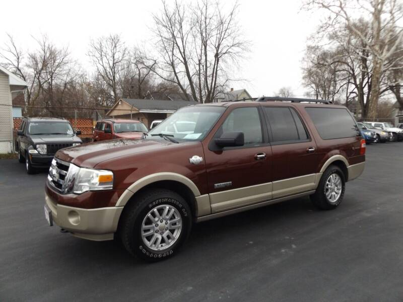 2008 Ford Expedition EL for sale at Goodman Auto Sales in Lima OH