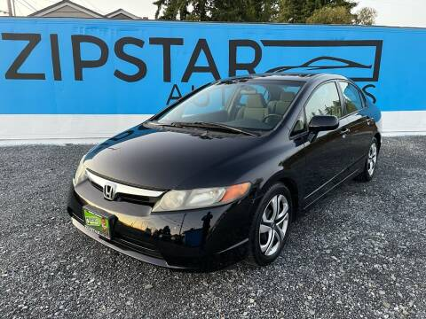2007 Honda Civic for sale at Zipstar Auto Sales in Lynnwood WA