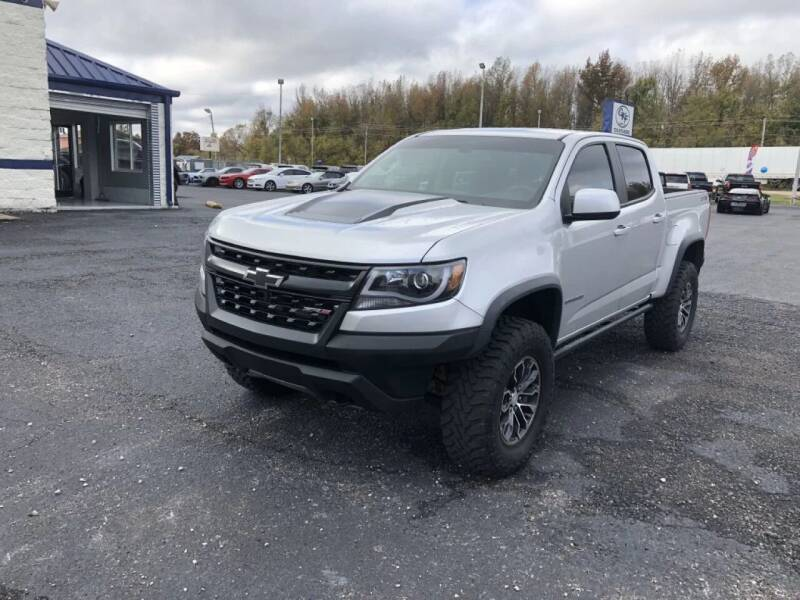 2017 Chevrolet Colorado for sale at GKF Sales in Jackson TN