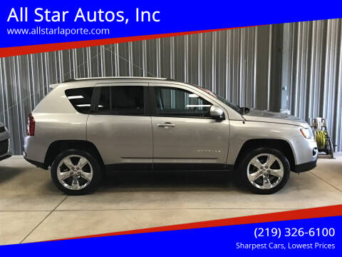 2017 Jeep Compass for sale at All Star Autos, Inc in La Porte IN