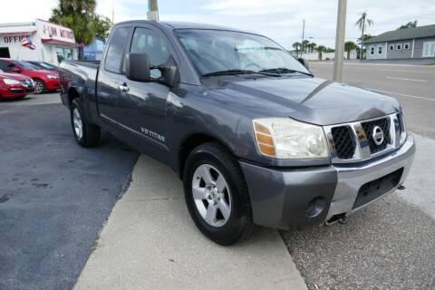 2006 Nissan Titan for sale at J Linn Motors in Clearwater FL