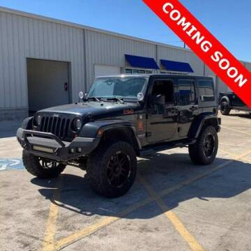 2013 Jeep Wrangler Unlimited for sale at Monster Cars in Pompano Beach FL