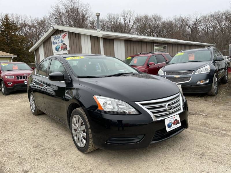 2014 Nissan Sentra for sale at Victor's Auto Sales Inc. in Indianola IA