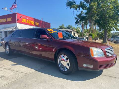 2004 Cadillac Deville Professional for sale at 3K Auto in Escondido CA
