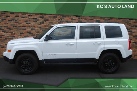 2014 Jeep Patriot for sale at KC'S Auto Land in Kalamazoo MI