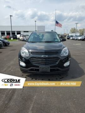 2017 Chevrolet Equinox for sale at COYLE GM - COYLE NISSAN - New Inventory in Clarksville IN