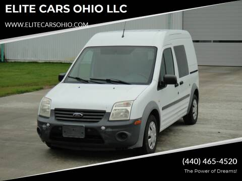 2013 Ford Transit Connect for sale at ELITE CARS OHIO LLC in Solon OH