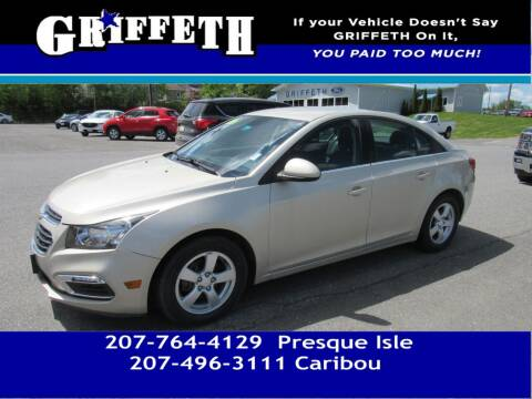 2013 Chevrolet Cruze for sale at Griffeth Mitsubishi - Pre-owned in Caribou ME