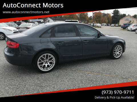 2011 Audi A4 for sale at AutoConnect Motors in Kenvil NJ