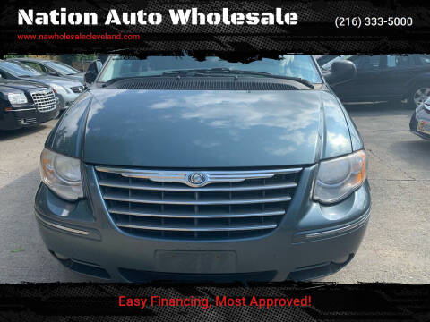 2007 Chrysler Town and Country for sale at Nation Auto Wholesale in Cleveland OH