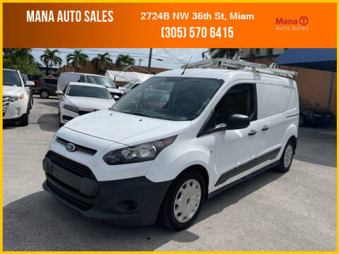 2016 Ford Transit Connect Cargo for sale at MANA AUTO SALES in Miami FL