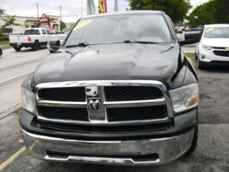2012 RAM Ram Pickup 1500 for sale at SUPERAUTO AUTO SALES INC in Hialeah FL