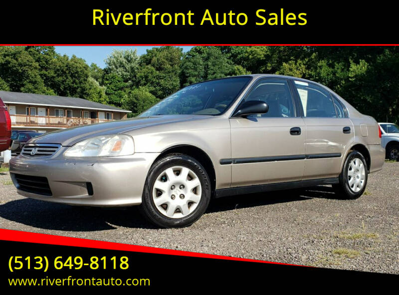 2000 Honda Civic for sale at Riverfront Auto Sales in Middletown OH