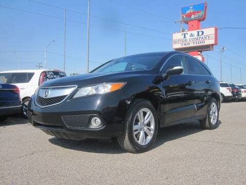 2015 Acura RDX for sale at T & D Motor Company in Bethany OK