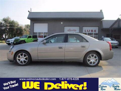 2004 Cadillac CTS for sale at QUALITY MOTORS in Salmon ID