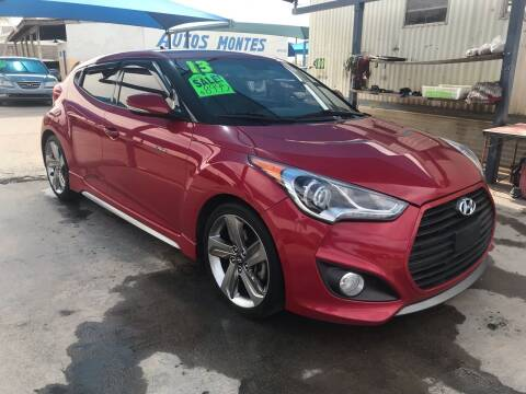 2013 Hyundai Veloster Turbo for sale at Autos Montes in Socorro TX