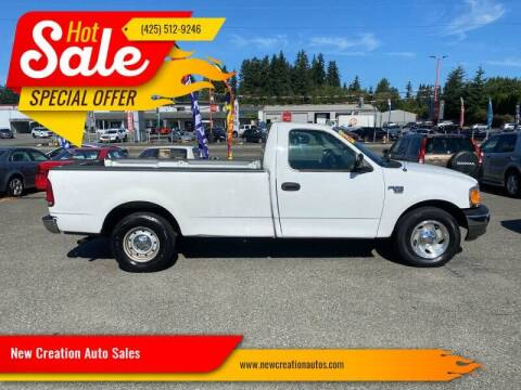 2004 Ford F-150 Heritage for sale at New Creation Auto Sales in Everett WA