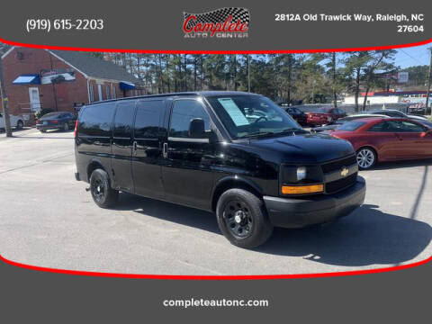 2013 Chevrolet Express Cargo for sale at Complete Auto Center , Inc in Raleigh NC