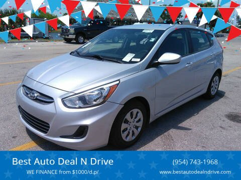 2017 Hyundai Accent for sale at Best Auto Deal N Drive in Hollywood FL