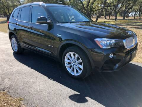 2015 BMW X3 for sale at Austin Elite Motors in Austin TX