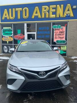 2020 Toyota Camry for sale at Auto Arena in Fairfield OH