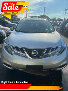 2012 Nissan Murano for sale at Right Choice Automotive in Rochester NY