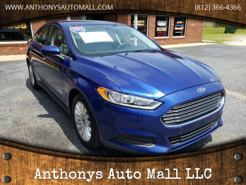 2014 Ford Fusion Hybrid for sale at Anthonys Auto Mall LLC in New Salisbury IN
