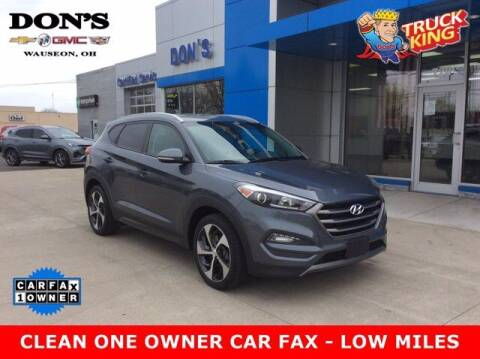 2016 Hyundai Tucson for sale at DON'S CHEVY, BUICK-GMC & CADILLAC in Wauseon OH