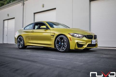 2016 BMW M4 for sale at Nuvo Trade in Newport Beach CA
