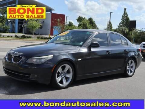 2008 BMW 5 Series for sale at Bond Auto Sales in Saint Petersburg FL