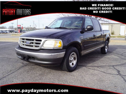 2003 Ford F-150 for sale at Payday Motors in Wichita And Topeka KS