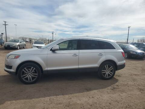 2007 Audi Q7 for sale at PYRAMID MOTORS - Fountain Lot in Fountain CO