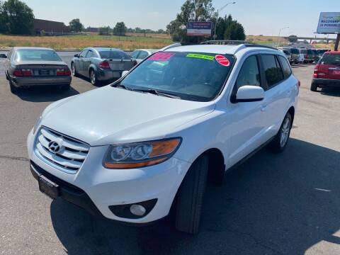 2011 Hyundai Santa Fe for sale at BELOW BOOK AUTO SALES in Idaho Falls ID