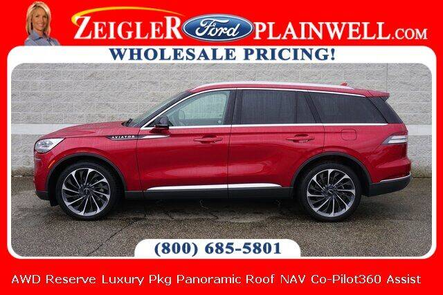 2020 Lincoln Aviator for sale at Zeigler Ford of Plainwell- Jeff Bishop in Plainwell MI