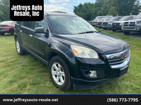 2008 Saturn Outlook for sale at Jeffreys Auto Resale, Inc in Clinton Township MI